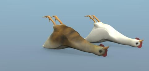 Ludemi84 creature dead chicken preview image