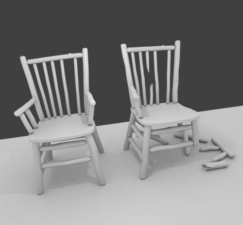Broken chair preview image