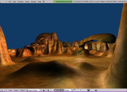 Terrain preview image