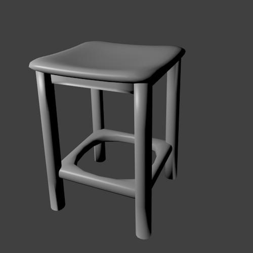 Household stool preview image