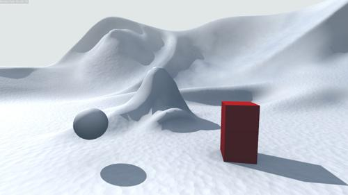 der On Shader Example: snow preview image