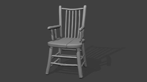 Wooden chair preview image