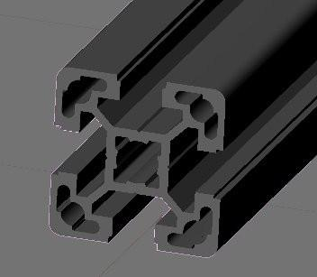 Structural Extrusion 40x40L preview image
