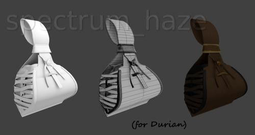 spectrum haze extra clothing pouch preview image