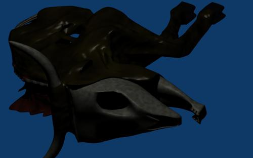 psychodox creature dead cow 02 preview image