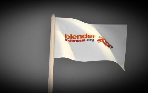 Blendera [blowing flag ]  preview image
