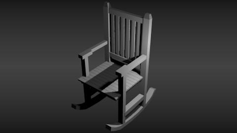rocker chair preview image