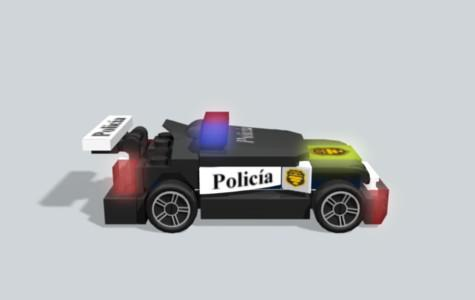 Lego Police car 8152 preview image
