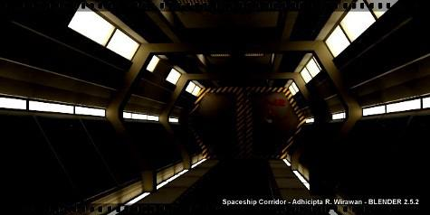 Spaceship Corridor preview image