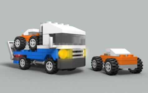 Lego Truck 4838 preview image