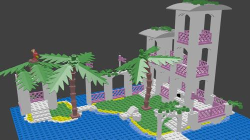 Brick beach house v1.0 preview image
