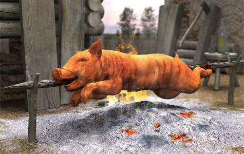 Pig on a spit preview image