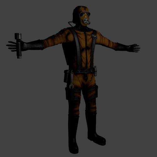 Dannyboy from Materia 1 (Rigged) preview image