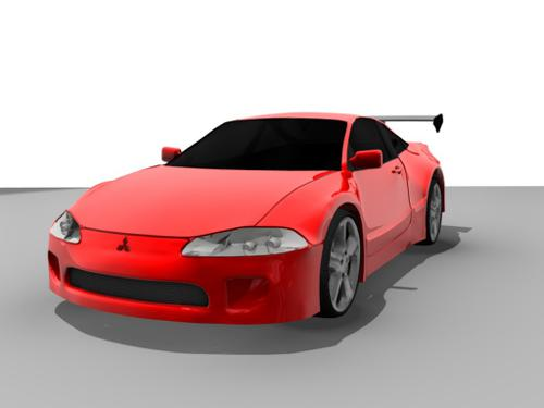 Mitsubishi Eclipse GSX preview image