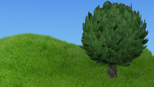 Cartoon tree preview image 1