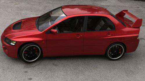 Mitsubshi Lancer Evo 9 preview image