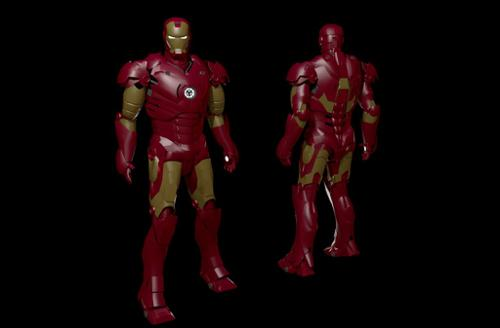 Iron man MK3 preview image