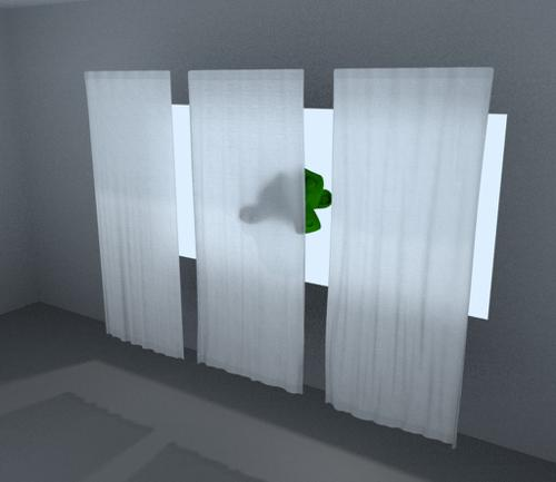 Curtain – Realistic Material preview image