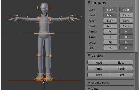 Sintel Simple Adult for Blender 2.56 beta preview image 1