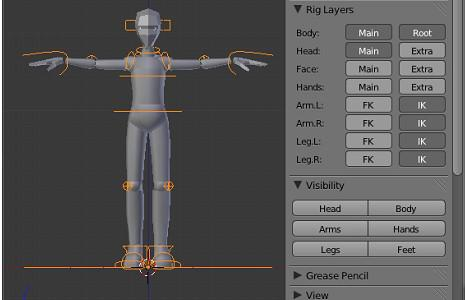 Sintel Simple Adult for Blender 2.56 beta preview image