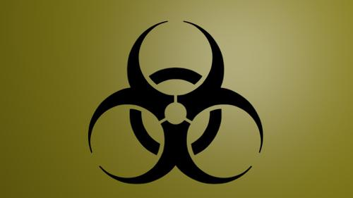 Simple biohazard symbol preview image