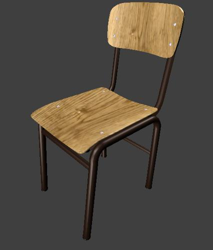 School chair preview image