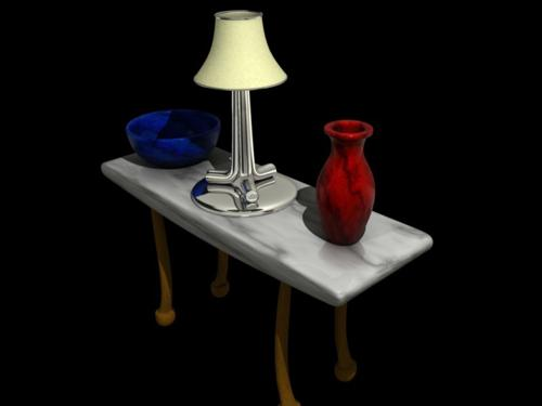 Lamp Vase Table preview image