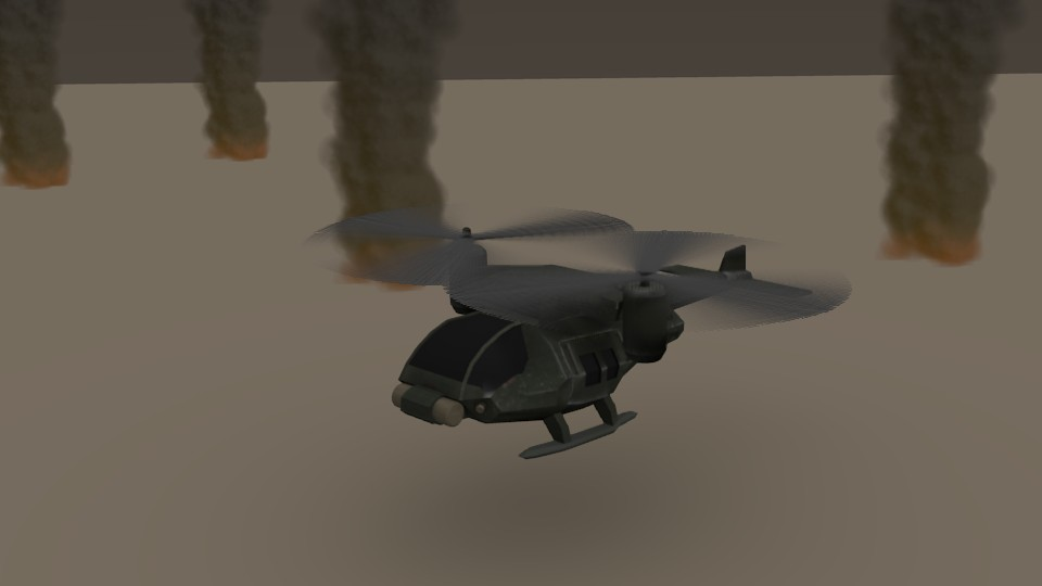 Helicopter Scene preview image 1