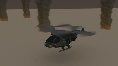 Helicopter Scene preview image