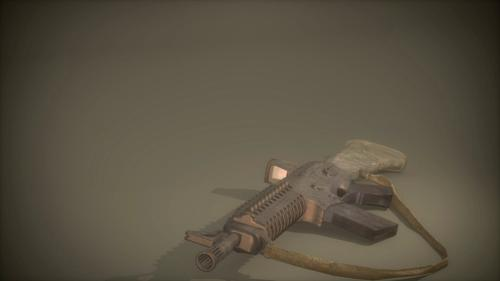 Commando Assault Rifle (Comes with textures) preview image