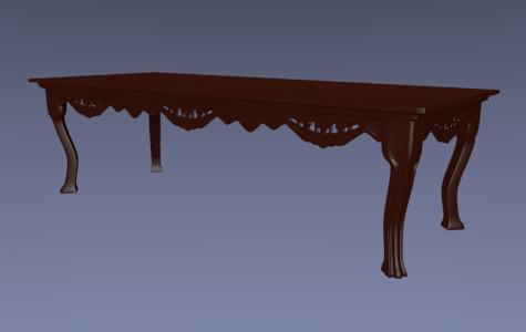 Antique Coffee Table preview image