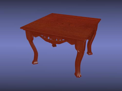 Antique End Table preview image