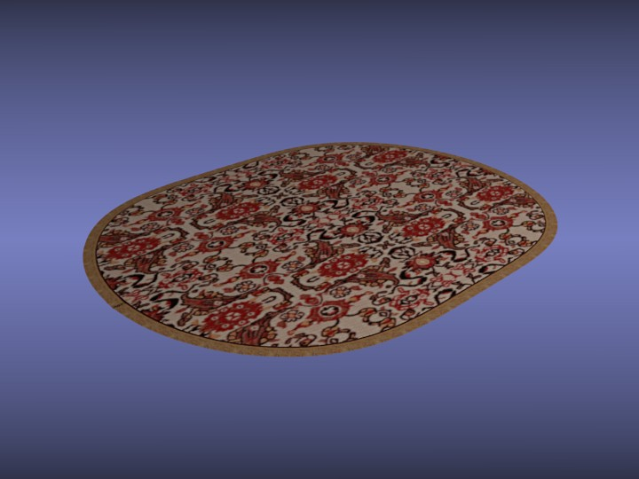 Oval Area Rug preview image 1