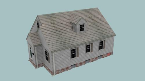 Low-Poly House preview image