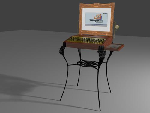 Desktop computer circa 1891 AD preview image