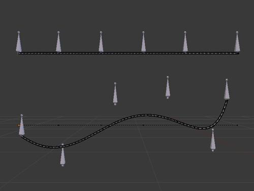 spline IK setup preview image