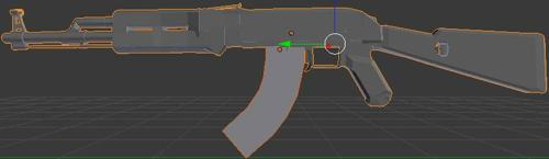 My First Blender Model | AK-47 preview image