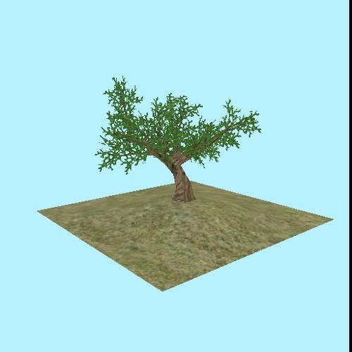 Low Polygon Tree preview image