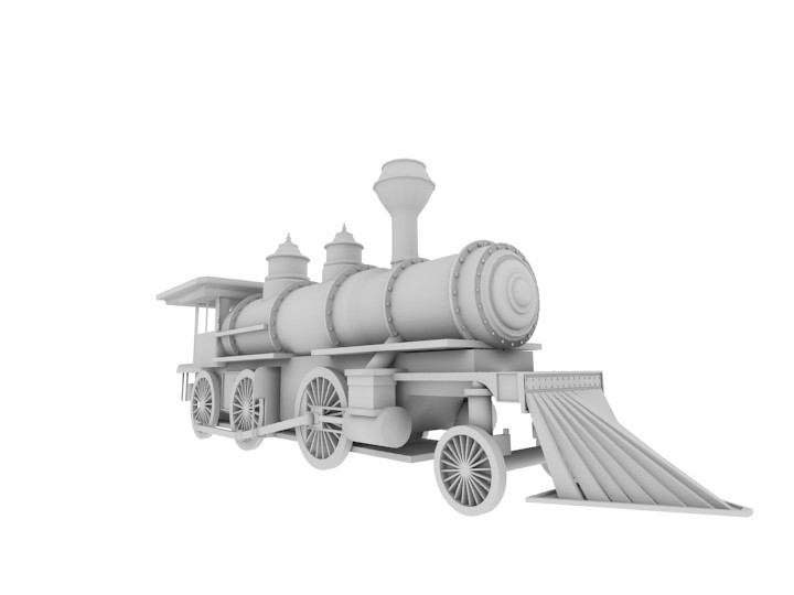 Steam Locomotive preview image 1