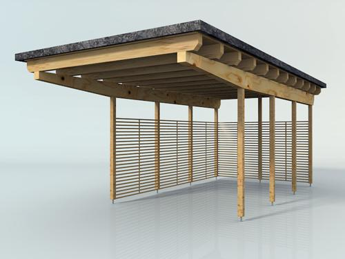Wooden Carport preview image