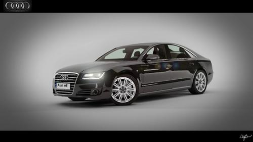 Audi A8 2010 preview image