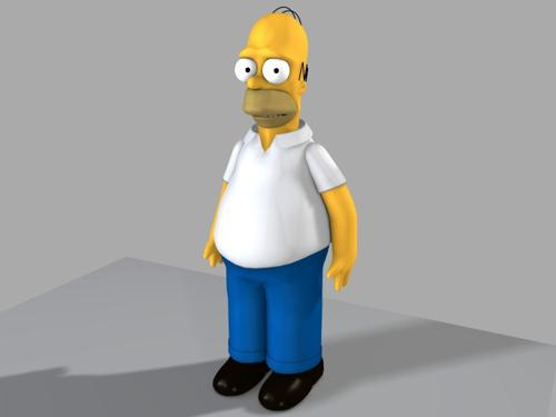 Homer Simpson preview image