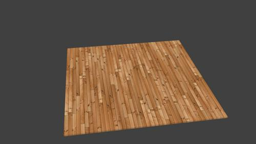 UV Wood Floor Texture Test preview image