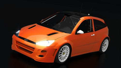 Ford Focus WRC 2000 preview image
