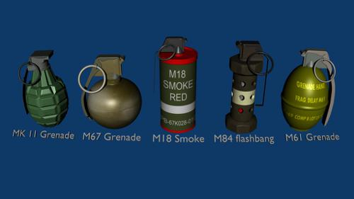 Grenade Pack (textured) preview image