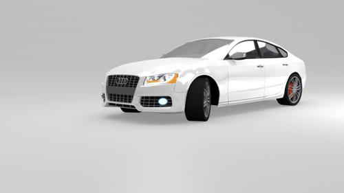 Audi S5 Rigged preview image