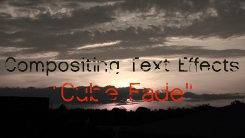Text Effect - Cube Fade preview image