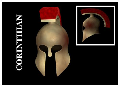 Greek Corinthian Helmet preview image