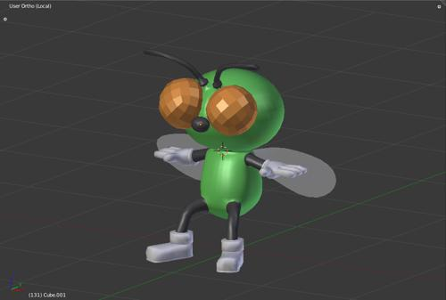 Cartoon Fly preview image