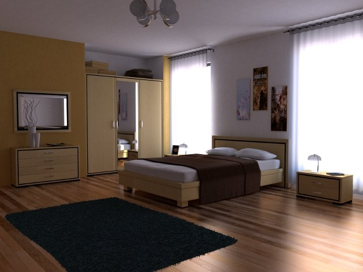 Bedroom With Cycles preview image 1